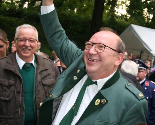 2 den neuen Mündelheimer König Rolf Bosse und.....